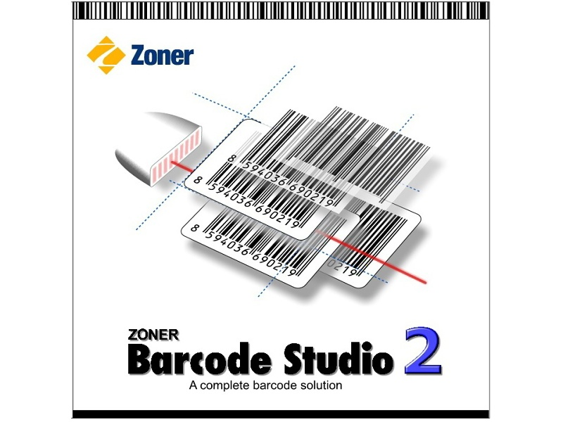Program for creating, printing and managing single or multiple barcodes