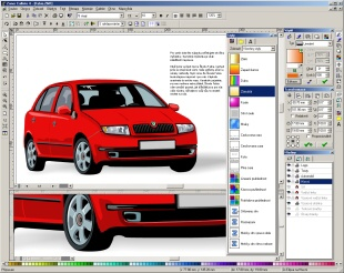 A powerful vector graphics editor with an intuitive user interface.