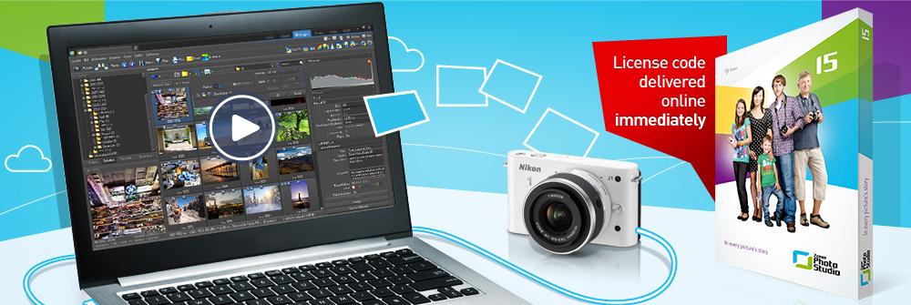 Make Zoner Photo Studio your own photo studio