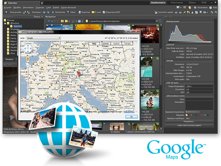 Afficher sur la carte - GPS