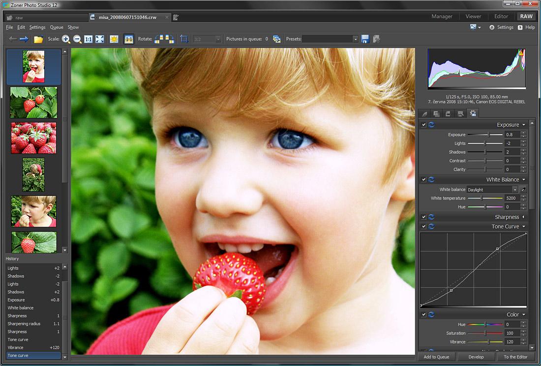 Приложение для редактирования фото на компьютер